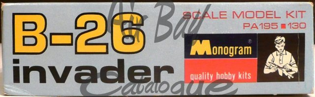 B-26 Invader/Kits/Monogram - Click Image to Close